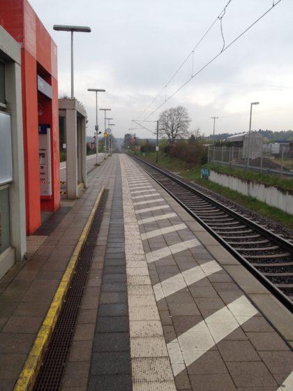 Bahnsteig Kirkel