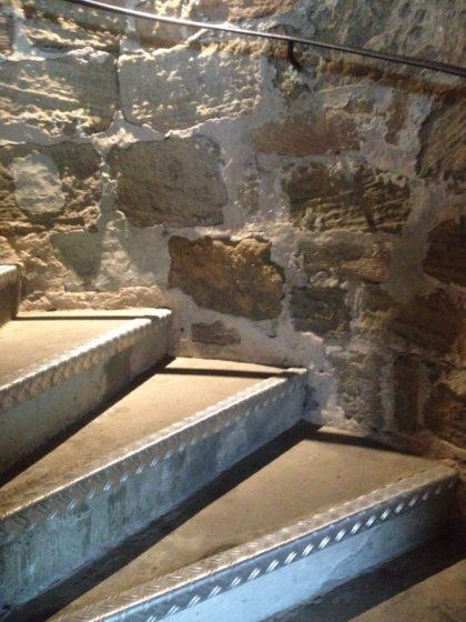 120 Stufen hinauf zum Turm