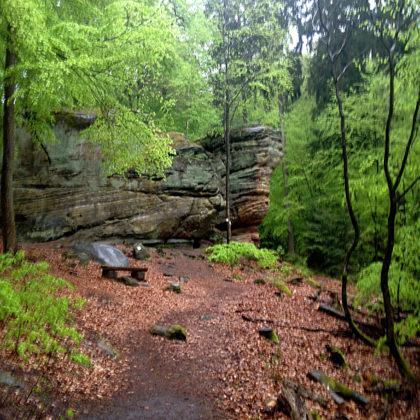 Der eigentliche Felsenpfad