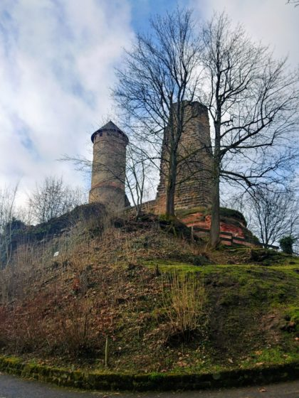 Burg Kirkel, erbaut im 11. Jahrhundert