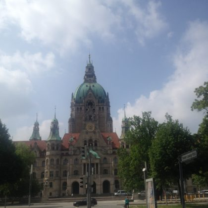 Roter Faden Hannover Rathaus