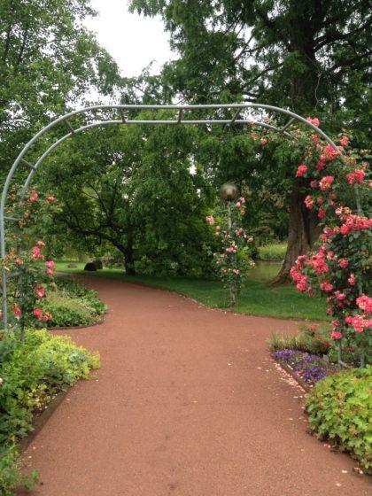 Wandern Zweibrücken Rosengarten