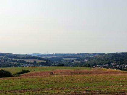 Auf dem Breckert mit Blick über das Hügelland bei Eppelborn