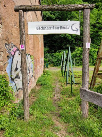 Start direkt am Bahnsteig in Beckingen