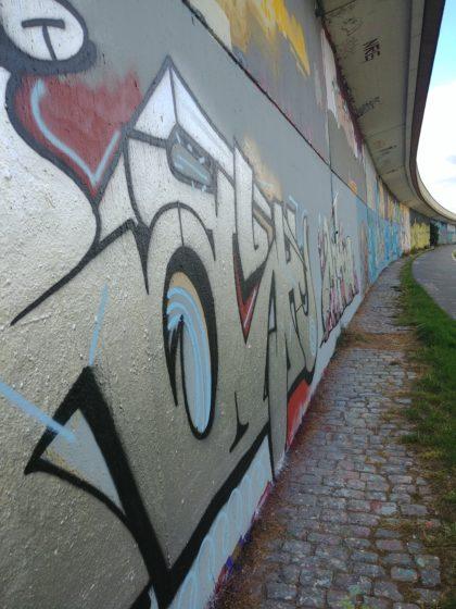 Drei Jahre später - natürlich andere Graffiti