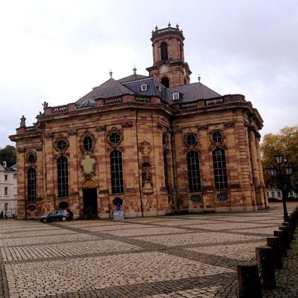 Die Ludwigskirche in Alt-Saarbrücken