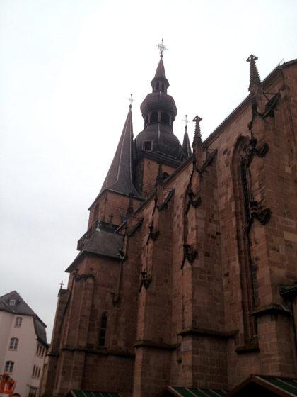 Die Basilika von nahem......