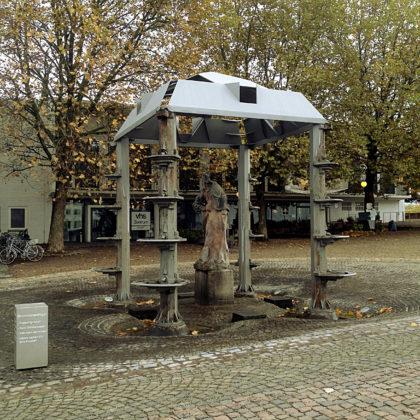 Skulptur am Schlossplatz