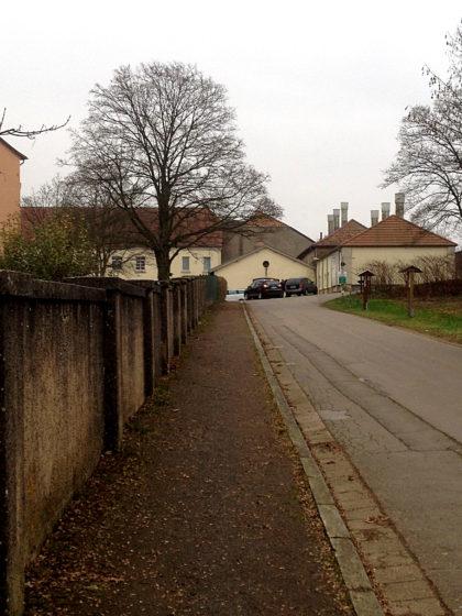 Kurz vor dem Wendelinushof