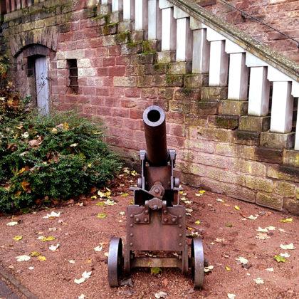 Und mal wieder eine Kanone
