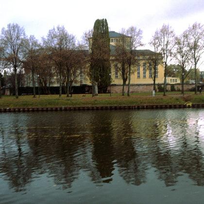 Blick auf das Saarländische Staatstheater