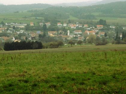 Blick auf Leitersweiler