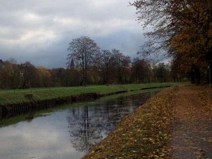 Früher diente der Kanal zum Transport von Steinkohle und Eisenerz