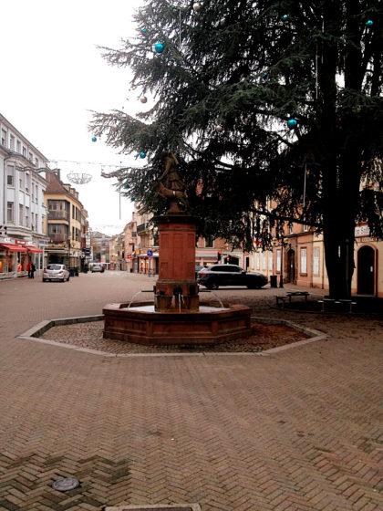 Fußgängerzone von Saargemünd