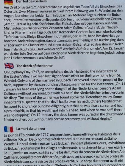 Ein gut 300 Jahre alter mysteriöser Todesfall
