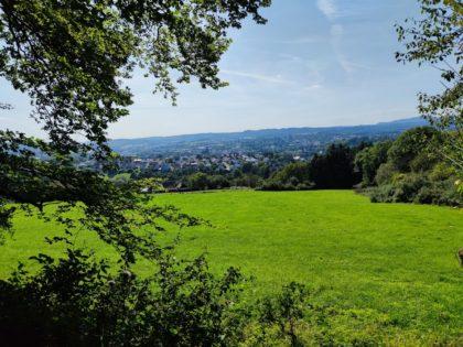 Blick auf St. Wendel und das Hinterland