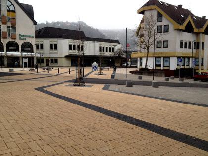 Idar-Oberstein - am Rande der leeren Fußgängerzone