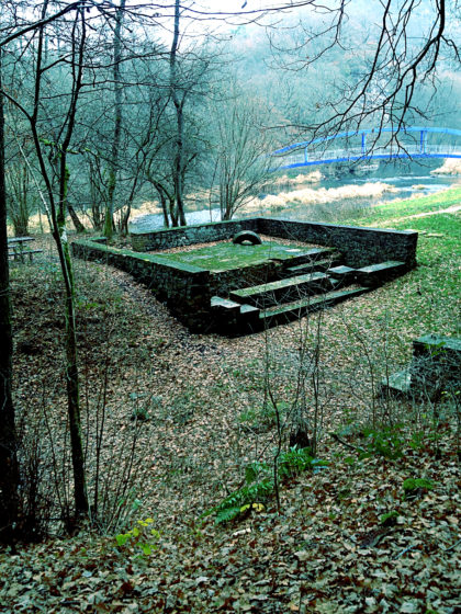 Die Überreste der Hoppstädter Achatschleife