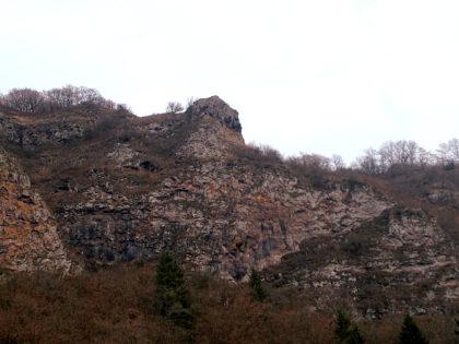 Ich bewege mich durch das Naturschutzgebiet Kammerwoog - Krechelfels