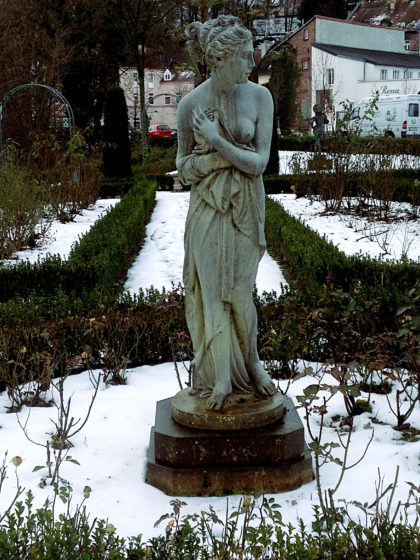 Der Garten ist Teil der Barockstraße SaarPfalz