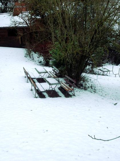 Tiefer Schnee, tiefe Stille