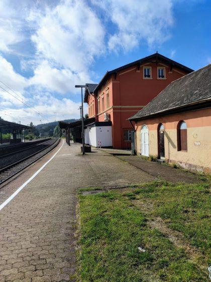 September 2021 - Start am Bahnhof Ottweiler