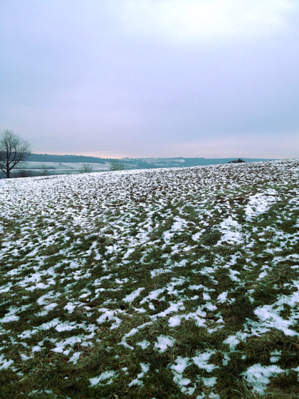 Hinter Niedaltdorf beginnt der gut 6 Km lange Druidenpfad