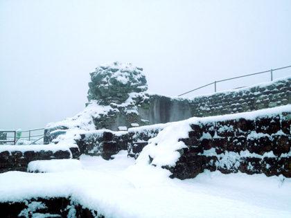 1714 wurde die Burg endgültig geschleift und diente später als Steinbruch beim Bau von Schloss Karlsberg