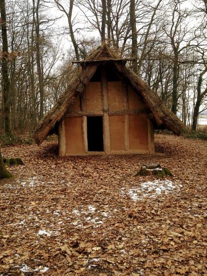 Ein Keltenhaus