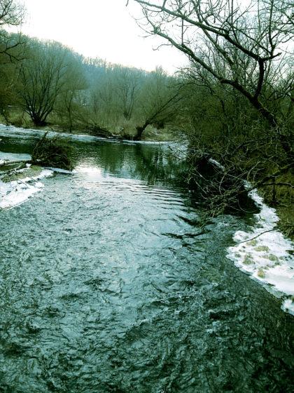 Die Nied ist 114 Km lang und mündet bei Rehlingen-Siersburg in die Saar