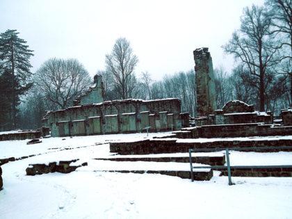 Letzter Blick auf die Klosterüberreste