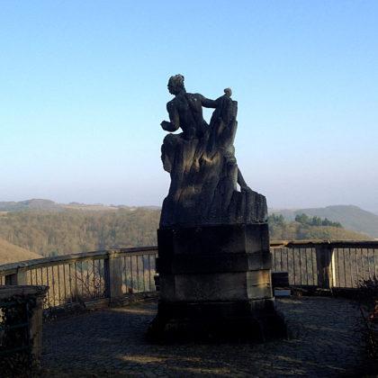 Der Prometheus im Schlosspark
