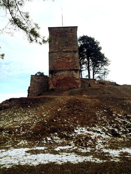 Ein Turm der Siersburg