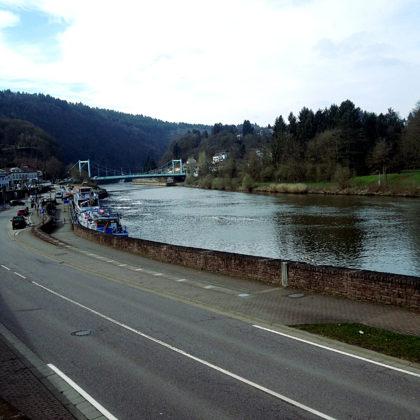 Am Saarufer in Mettlach