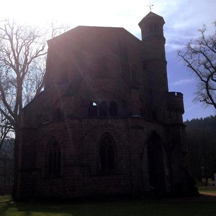 Der Alte Turm, das älteste erhaltene Bauwerk des Saarlandes
