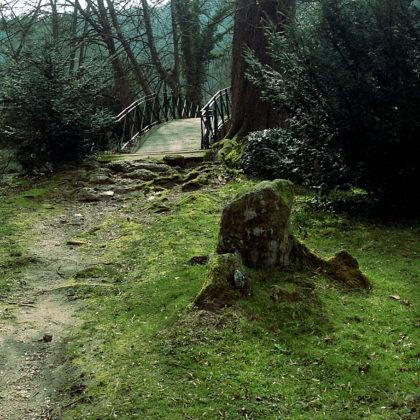 Der Abteipark wurde nach dem Vorbild eines Englischen Gartens gestaltet