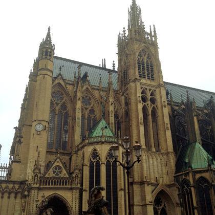 Die Kathedrale von Metz