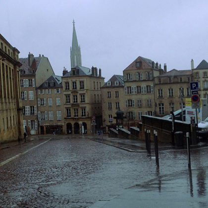 Rue Four du Cloitre, unmittelbar neben der Kathedrale