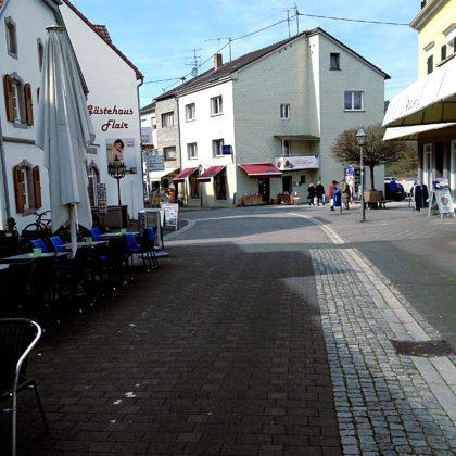 Mettlach, Fußgängerzone