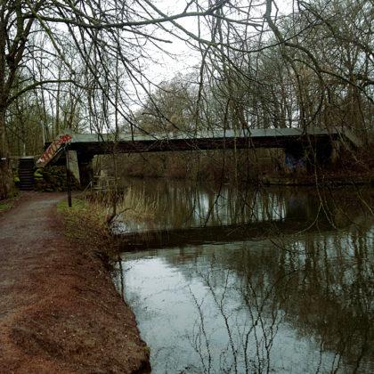 Wieder eine Brücke