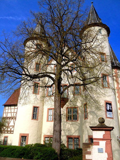 Lohrer Schloss, Grundsteinlegung im 14. Jahrhundert