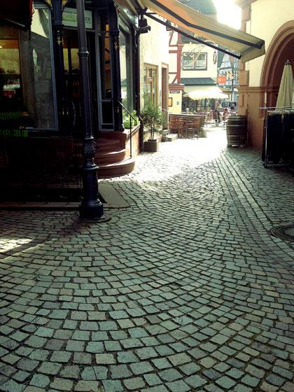 Wieder in der Altstadt