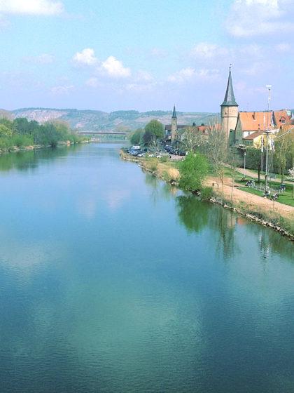 Über den Main nach Mühlbach