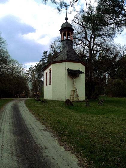 Eine Kapelle im Niemandsland zwischen Rohrbach und Erlenbach