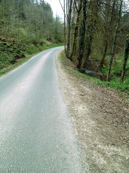 Die letzten Kilometer bis Lohr