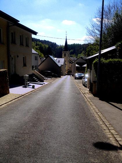 Unser Startpunkt in Bourglinster