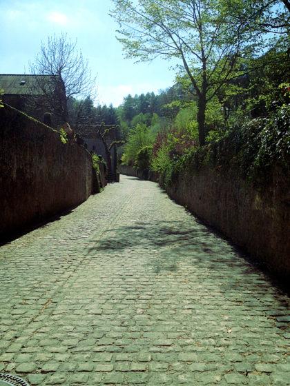 Auf dem Weg zum Schloss