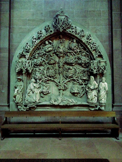 Relief aus dem ehemaligen Kreuzgang