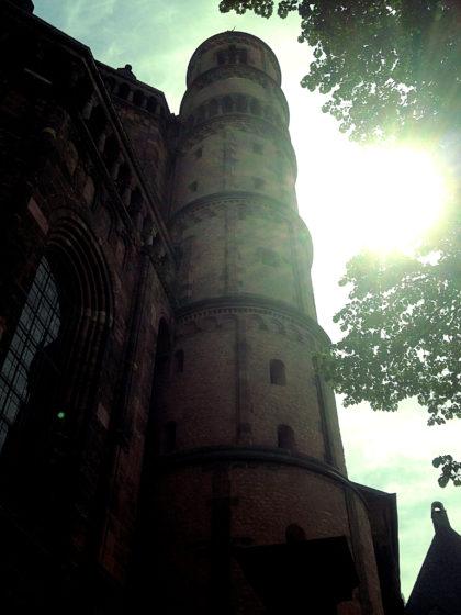 Der Wormser Dom, ganz nah