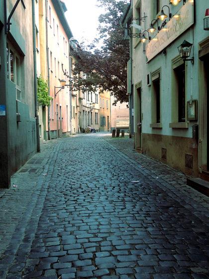 Gasse im ehemaligen Judenviertel